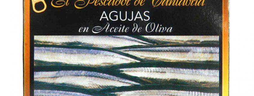 agujas en aceite de oliva el pescador de cantabria